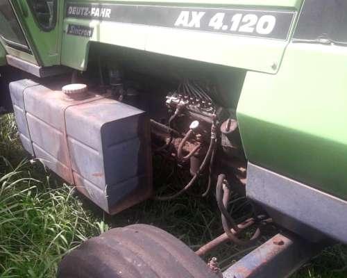 Tractor Deutz 4.120, Bolivar