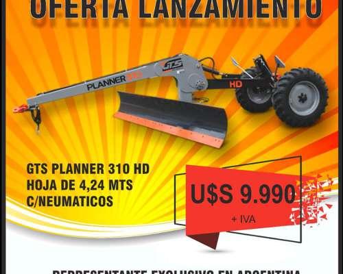 Oferta Lanzamiento Niveladora GTS Modelo Planner 310 HD