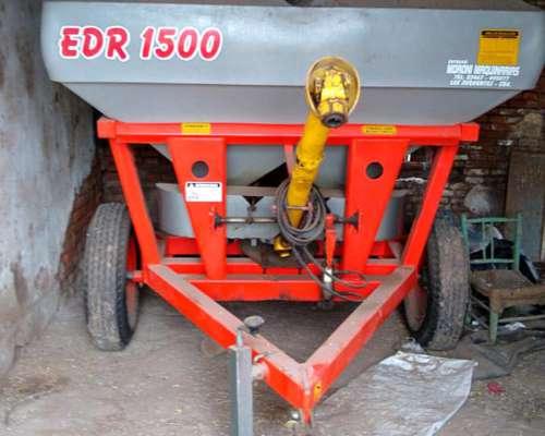 Fertilziadora Gimetal EDR 1500 Litros