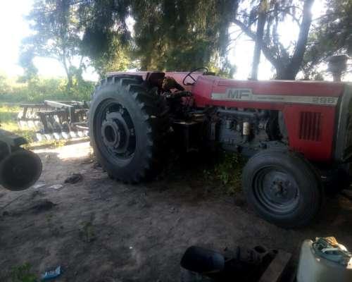 Tractor Massey Ferguson 296