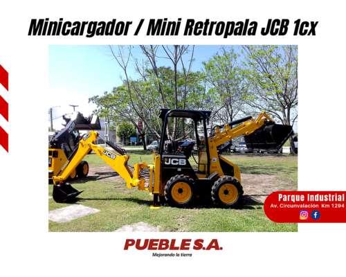 Minicargador / Mini Retropala JCB 1cx