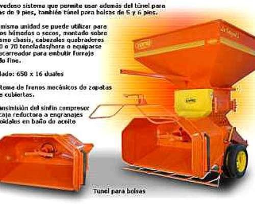 Quebradora - Embutidora la Integral 2 - 60 T/hora