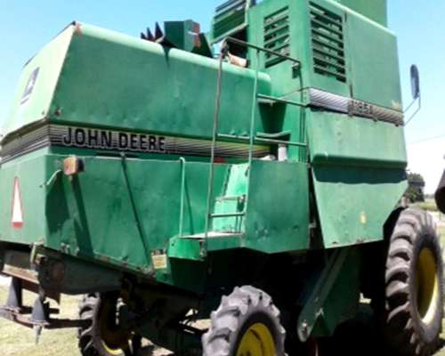 Cosechadora John Deere 1185-a año 1997