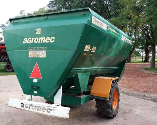 Mixer Horizontal Agromec MD 95
