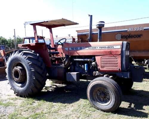 Tractor Massey Ferguson 1615 S sin Cabina