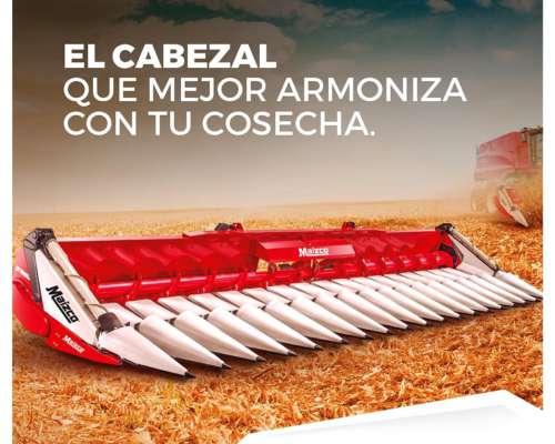 Cabezal Maicero Maizco Premium Nuevo con Remolque Engomado