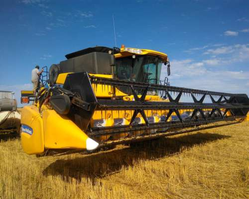 Cosechadora New Holland Cr 6080 Año 2014 30 Pies