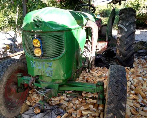 Tractor Deutz A40 Impecable