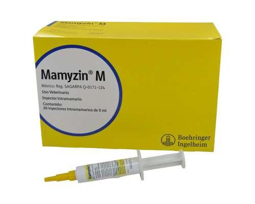 Antibacteriano Mamyzin M X 20 Jeringas