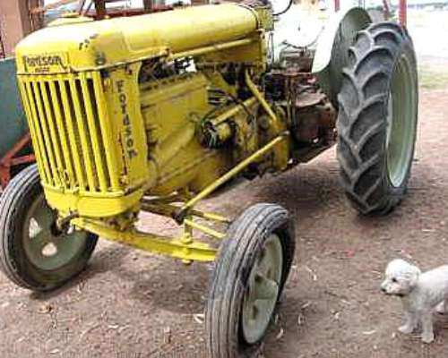 Tractor Fordson Major