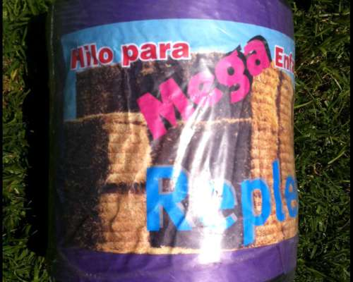 Bobinas Hilo Megaenfardadora 1200 Mts.