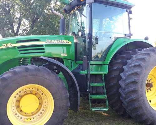 Tractor John Deere 7815 año 2009