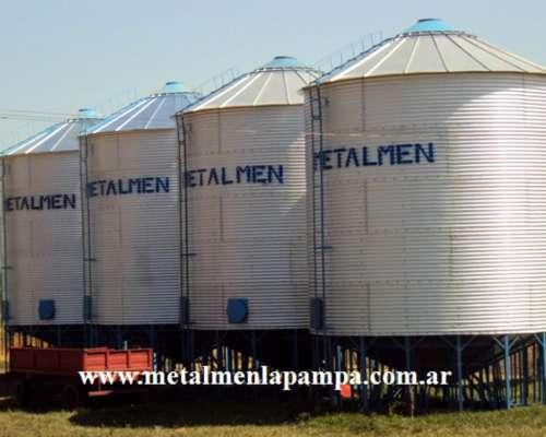 Silos Metalmen (colonia Menonita - La Pampa)