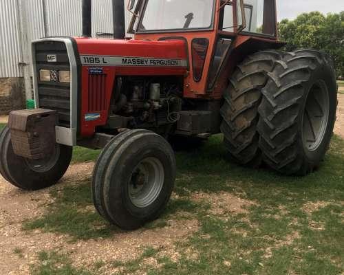 Tractor Massey Ferguson 1195l