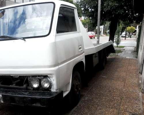 Camion con Plancha Auxilio Fija