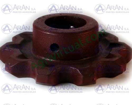 Engranaje de Acarreador Z10 CA550 EJE45 Mf-int