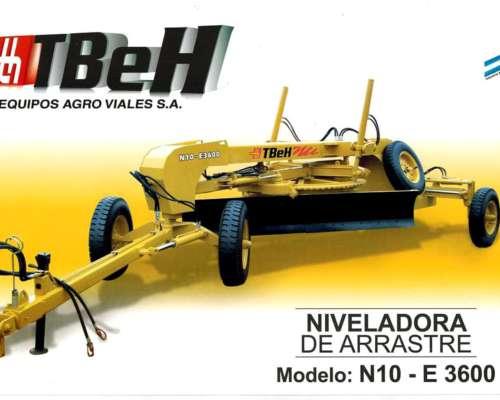 Niveladora de Arrastre Tbeh N-10 E3600