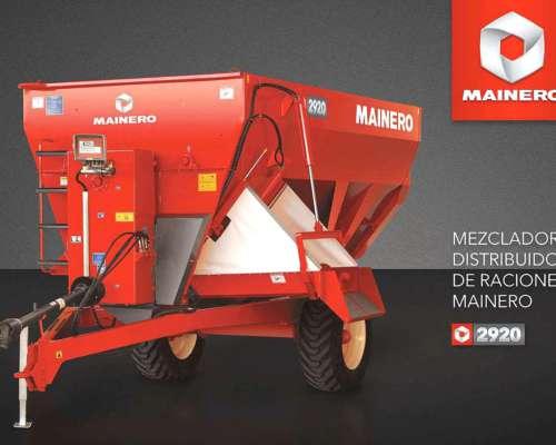 Mixer 2921 Mainero Nuevo Unidad Disponible