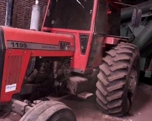 Tractor Massey Ferguson 1195 S año 1989,