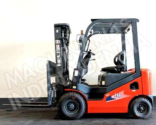 Autoelevador Heli 1800 Kg Diesel CPCD18 Isuzu Desplazador