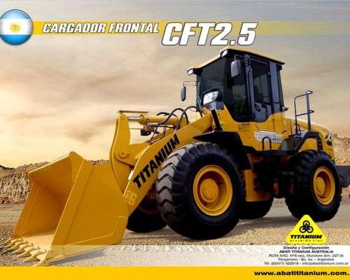 Pala Frontal CFT2.5 Titanium