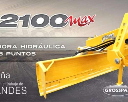 Niveladora 3 Puntos Grosspal 3p 2100 MAX