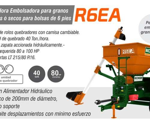 Embolsadora Quebradora Richiger R6 E/ea/plus