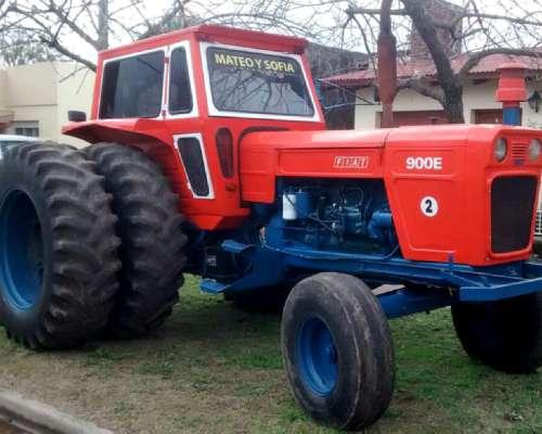 Tractor Fiat 900e Año 1979 Con Duales Y Cabina