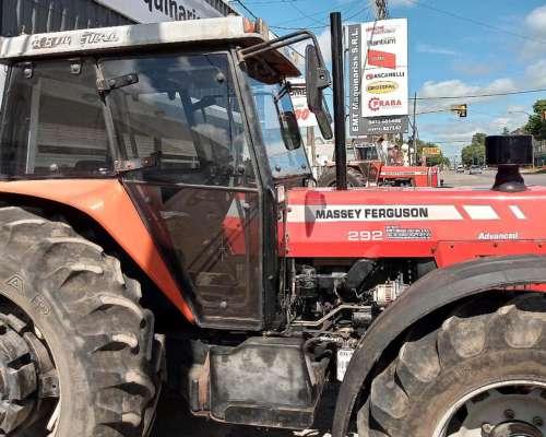 Massey Ferguson 292.4 Doble Tracción año 2008 con Cabina