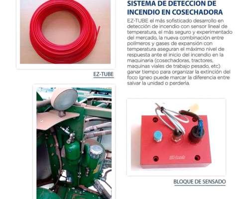 Sensor de Incendio para Cosechadoras