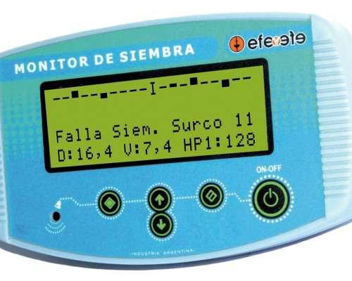 Monitor de Siembra EFE y EFE Instalado C/ Viáticos 15 Surcos
