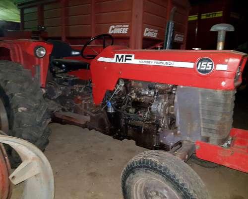 Massey Ferguson 155, Direccion y Tres Puntos