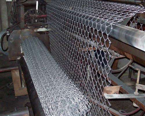 Fabrica De Tejido Romboidal, Alambre Galvanizado