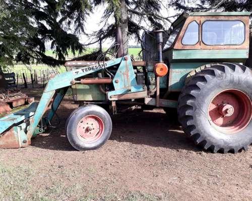 Tractor Deutz A85 con Pala