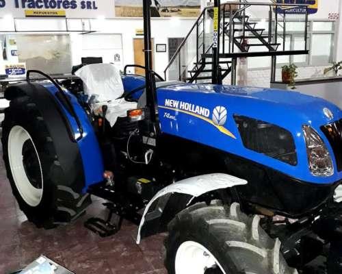 Tractor New Holland T4.85 Frutero Origen Italiano