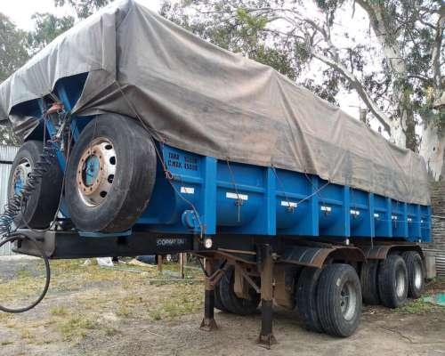 Camión Scania 113 con Batea