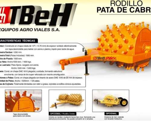 Rodillo Pata de Cabra - Tbeh