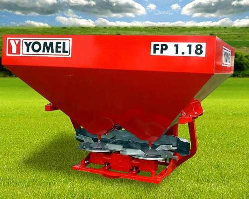 Fertilizadora 3 Puntos Yomel Bidisco FP 1.18