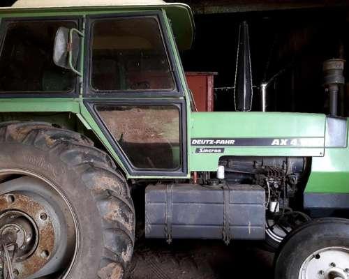 Tractor Deutz AX 100 Sincron con Doble Embreague