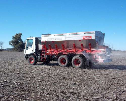 Fertilizadora Autopropulsada Yomel 25000kg Vend Cignoli Hnos