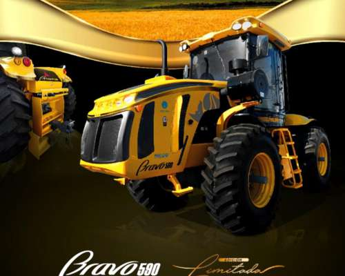 Tractor 590 Línea Bravo Edición Limitada - Pauny