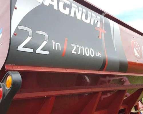 Tolva Ascanelli 22 TN Magnum Tubo 450 Disponible Ahora