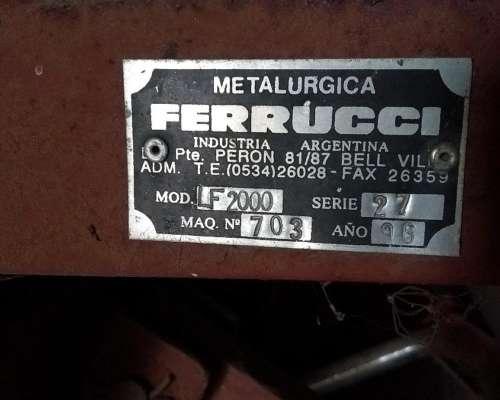 Moledora de Rollos Ferrucci