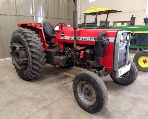 Tractor Massey Ferguson 1195, año 1982, con Garantía
