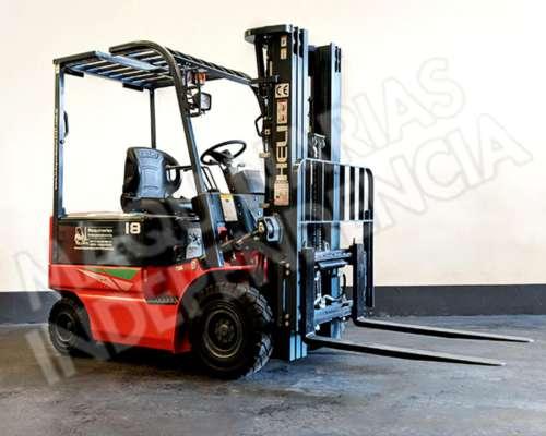 Autoelevador Electrico Heli 1800 Kg CPD18 Desplazador OKM