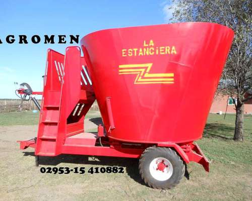 Mixer Vertical 14 MTS3 Agromen