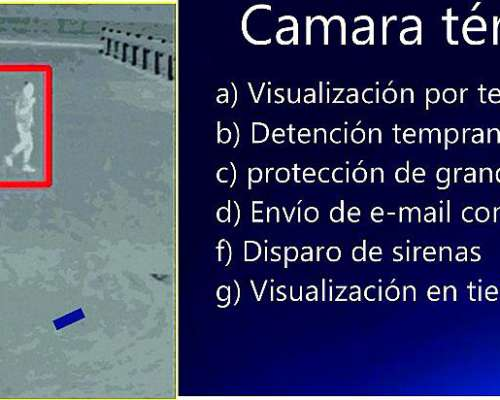 Seguridad Automatizada, Camaras, Alarmas , Alta Voces.