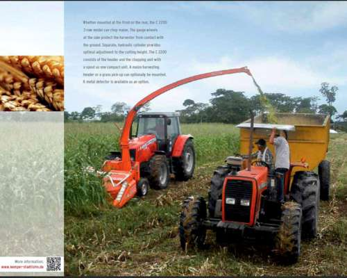 Cabezales, Maquinas Montadas Sobre Tractor, Repuestos Kemper