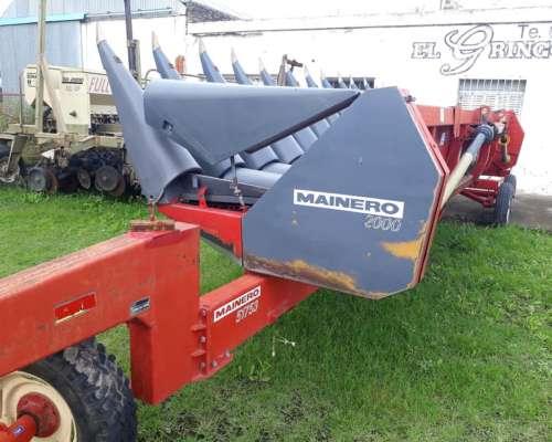 Maicero Mainero Modelo 2000 de 13 Surcos a 52 cm