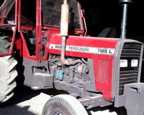 Tractor Massey Ferguson 1195l, muy Bueno Rodado 34 y 38